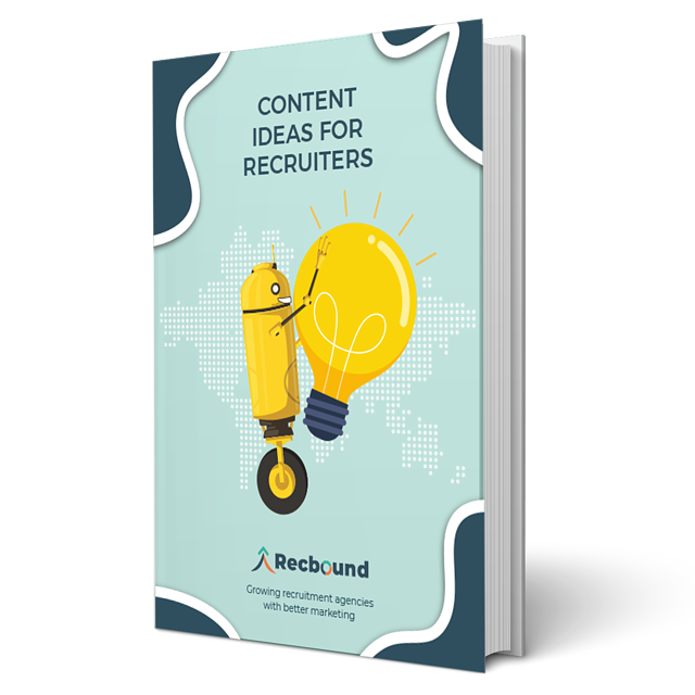 Content ideas for recruiters cover